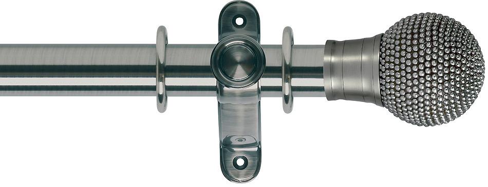 Silver interior poles